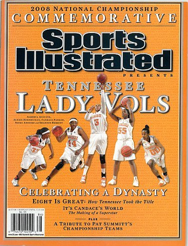RDB Holdings & Consulting CTBL-020354 Tennessee Lady Vols 2008 Natl Champs Commemorative Sports Illustrated Full Magazine- April 1744; 2008