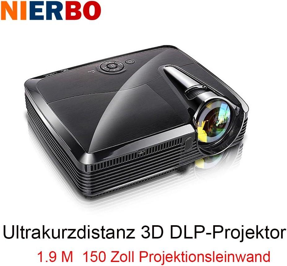 nierbo Ultra corta lanzamiento Proyectores Full HD 3d – Proyector ...