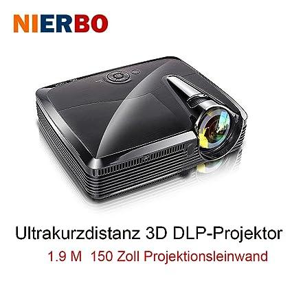 nierbo Ultra corta lanzamiento Proyectores Full HD 3d - Proyector ...