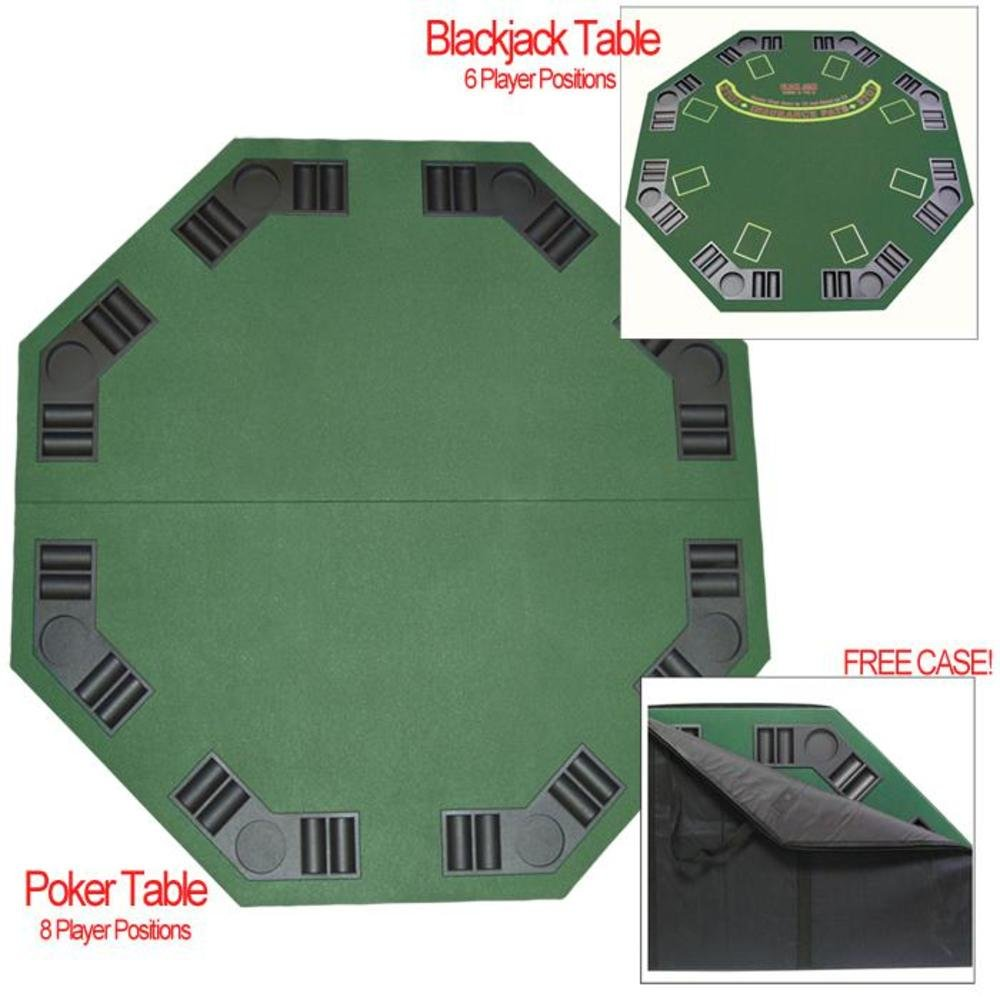Blackjack table top view - Amazon Com Trademark Poker Deluxe Poker And Blackjack Table Top With Case Sports Outdoors
