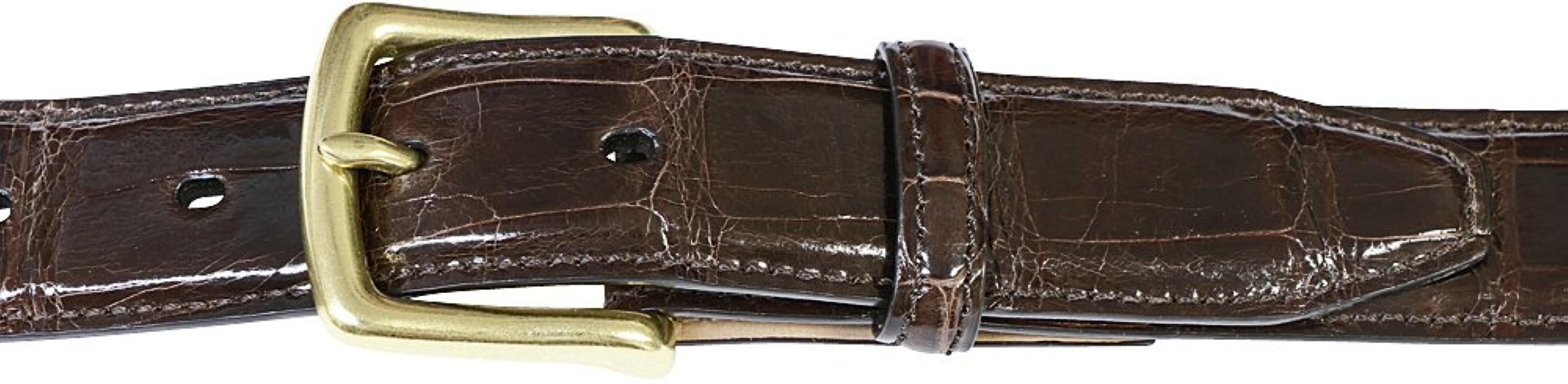 Amazon.com: Auténtica Alligator cinturones para hombre ...