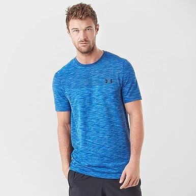 Under Armour Tee Shirt Siphon Homme Bleu: