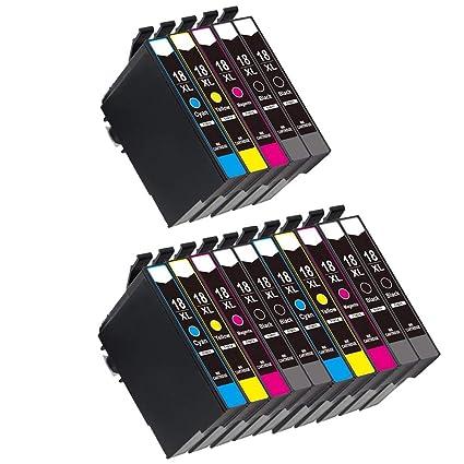 Caidi - Cartuchos de Tinta de Alta Capacidad para Epson Expression ...