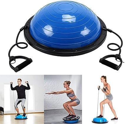 Medio balón para yoga y ejercicios de Homgrace, 59,5 cm de ...