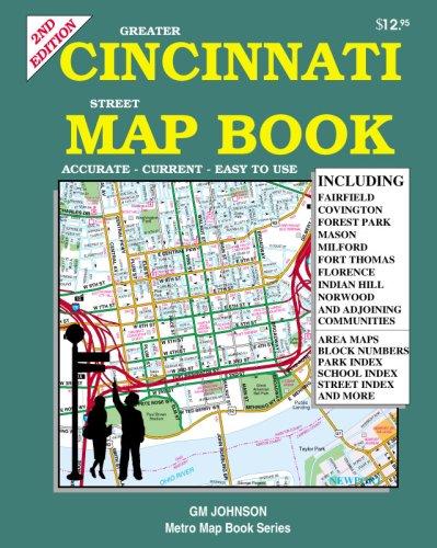 Greater Cincinnati, Ohio Map Book: GM Johnson & Associates Ltd ...