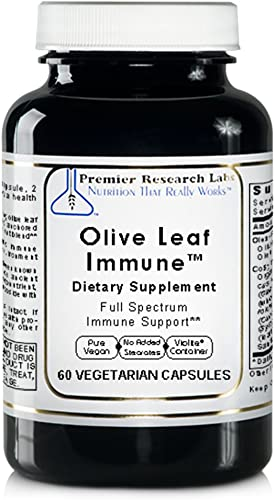 Olive Leaf Immune TM, 60 Capsules, Vegan Product – Olive Leaf Extract Formula for Full Spectrum Immune Support