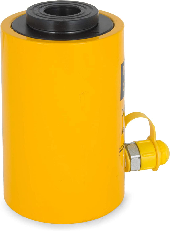 HODOY Idraulico Cilindro Vuoto Cric 20T Martinetto per i Fabbricanti di Riggers 20T100mm Vuoto