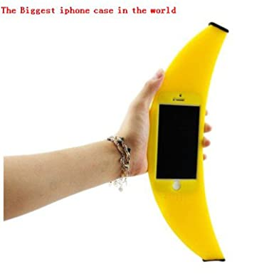 Array - mercurymall  the biggest iphone case in the world   stylish banana      rh   amazon co uk