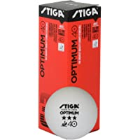 Stiga Optimum Tablet ennis Balls 3 Star (3-pack)