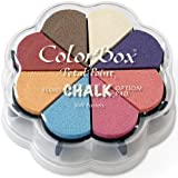 Clearsnap Colorbox Fluid Chalk Petal Point Option Inkpad, Soft Pastels, 8 Colors Per Pad