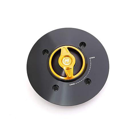 Amazon.com: Gold REVO CNC Quick Release Gas Fuel Cap For ...