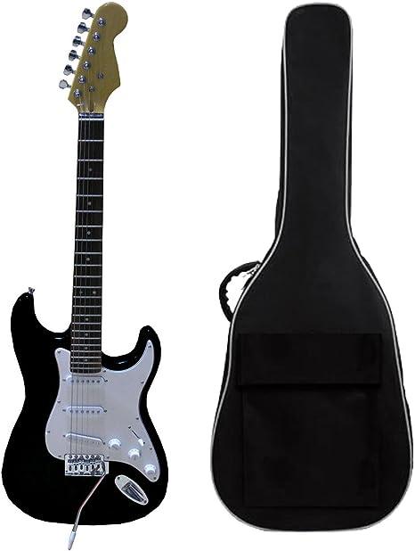 Guitarra eléctrica Negro: Amazon.es: Instrumentos musicales