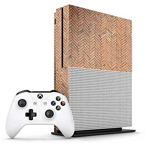Xbox One S Medieval Bricks Console Skin/Cover/Wrap for Microsoft Xbox One S
