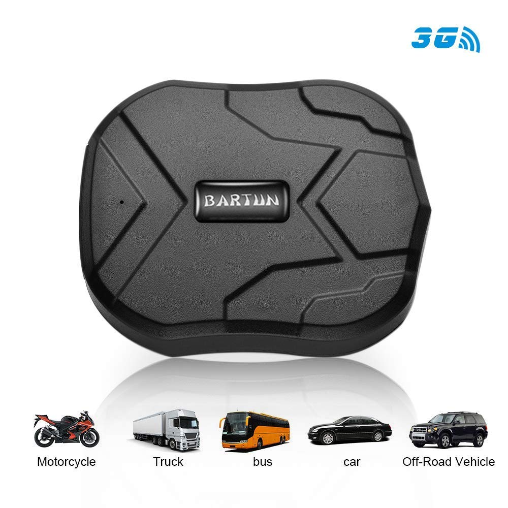 BARTUN 3G GPS Tracker for Vehicles Magnet GPS Locator Real Time Wireless Waterproof IP65 Tracking Devies for Cars Motorcycle Trucks Bike Support ...