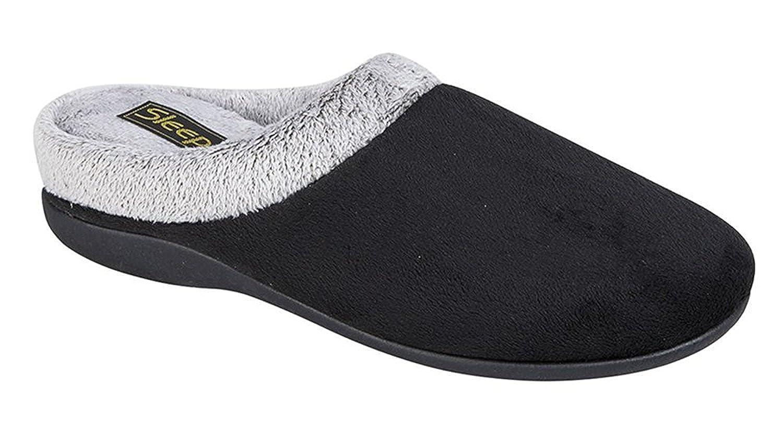 Pantofole da donna in memory foam, colore viola  Black