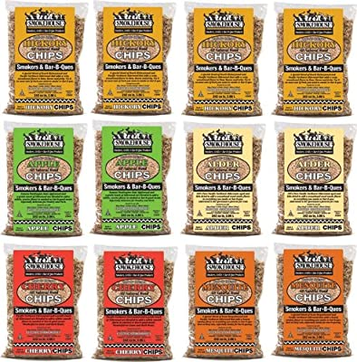 Smokehouse Products Assorted Flavor Chips, 12-Pack by Smokehouse Products