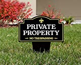 Brookfield Products Private Property No Trespassing