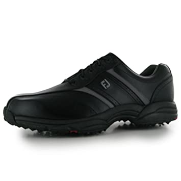 89ed9a41094b6 FootJoy softjoy zapatos de golf para hombre negro Golf Trainers zapatillas  deportivas calzado