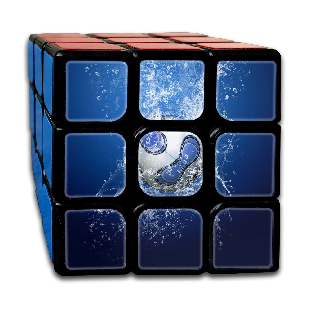 AVABAODAN Blue Football Rubik's Cube 3D Printed 3x3x3 Magic Square Puzzles Game Portable Toys-Anti Stress For Anti-anxiety Adults Kids