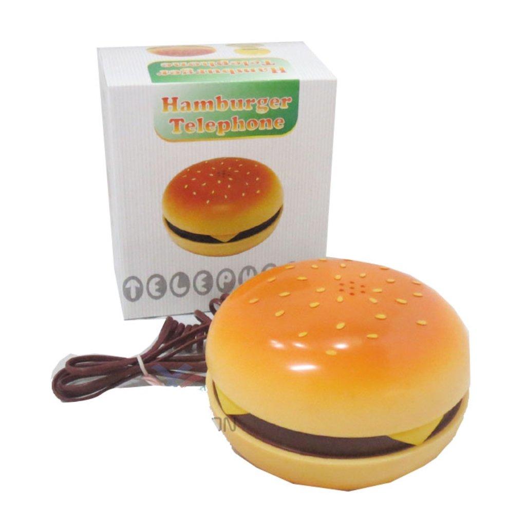 Hamburger Cheeseburger Burger Phone Telephone IN JUNO(Telephone) Hamburger Phone na 3R-A876-4W6H