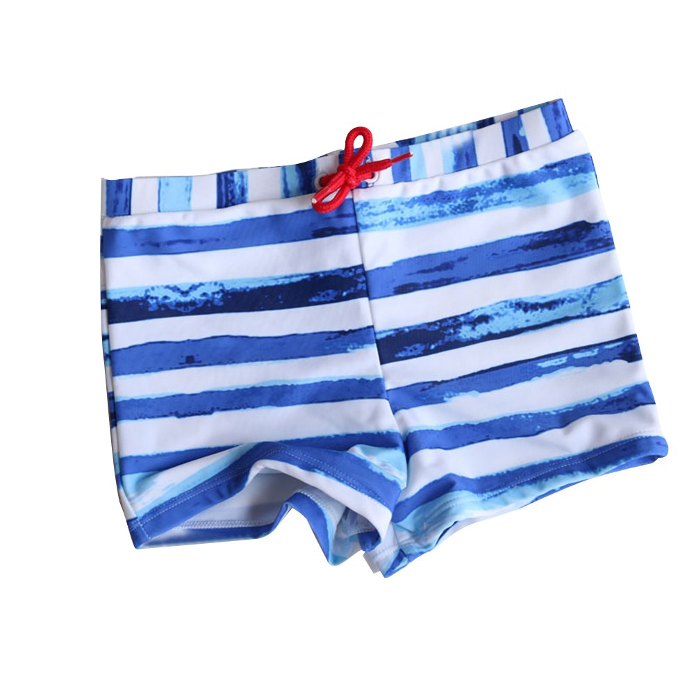 WINOMO Boys Swimming Trunks Drawstring Swim Boxer Shorts