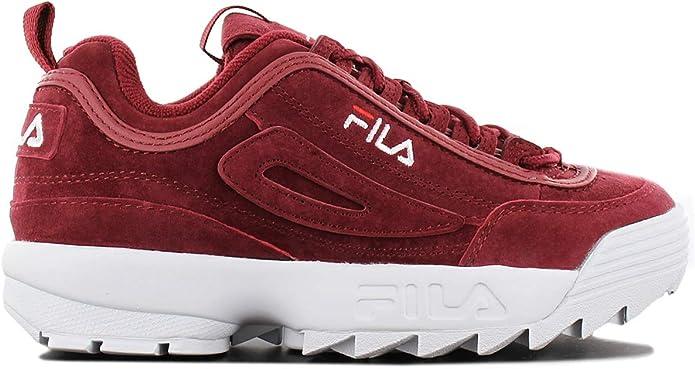 Fila Schuhe Disruptor S Low Marsala (1010553.40K) 38 Rot: Amazon ...