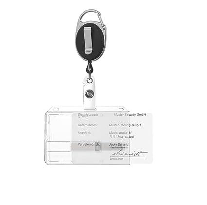 Amazon.com : ID Identity Card Holder Card Holder Hard ...