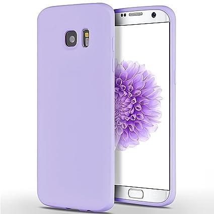 SpiritSun Funda para Samsung Galaxy S7 Edge, Soft Carcasa Diseño Mate Ultrafina TPU Bumper Suave Silicona Carcasa Ultra Delgado y Ligero Goma Flexible ...