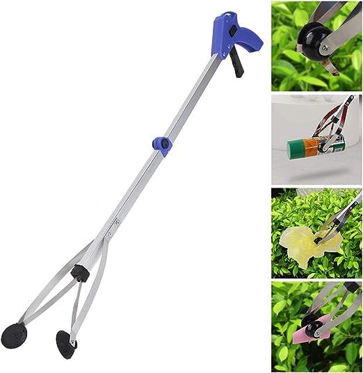 Aspirador del alcance de la ventosa, herramienta de asistencia de alcance, extensión del brazo para el recogedor de basura/basura/ recogida de residuos de hojas de jardín, para jardines/mercados/ fami: Amazon.es: Hogar