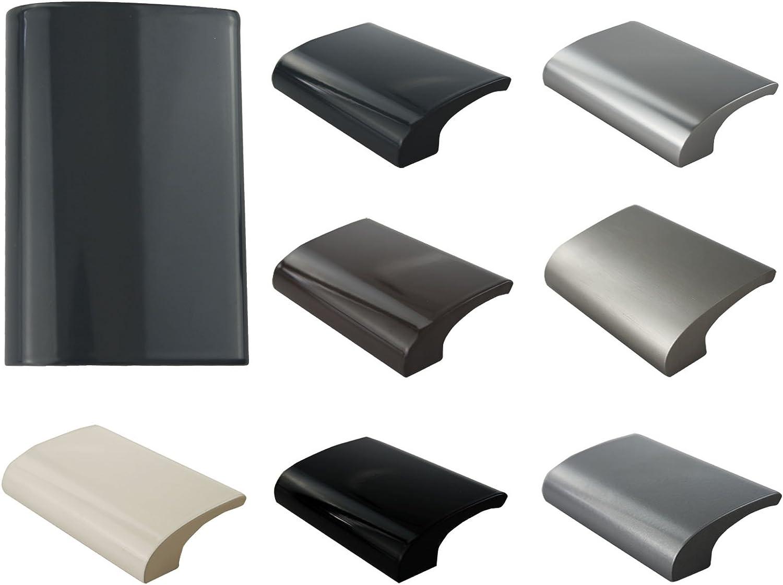 Tirador para puerta de balc/ón KOTARBAU seguro para fumar mango universal de aluminio balc/ón para terraza para cerrar la puerta