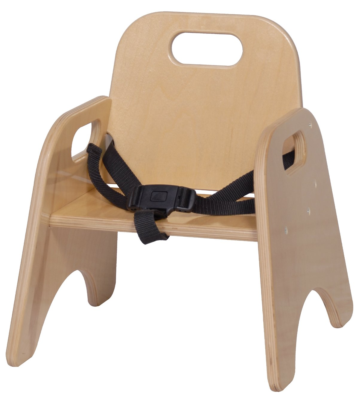 Steffy Wood Products 7-Inch Toddler Chair with Strap by Steffy Wood Products, Inc.