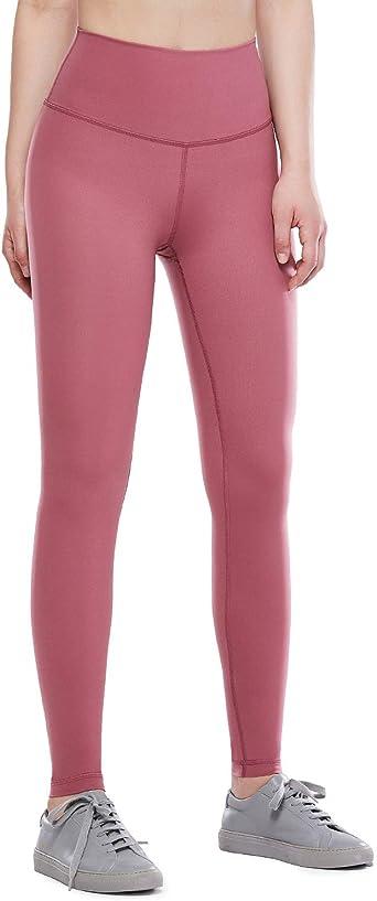 CRZ YOGA Donna 3//4 Leggins Sportivi Yoga Pantaloni da Allenamento con Tasche 43cm