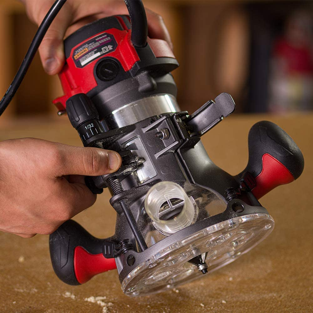 Top 8 Feature Differences of Plunge Router Vs Fixed Base Router 2