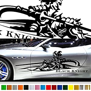 Amazoncom Black Knight Car Sticker Car Vinyl Side Graphics - Graphics for the side of a car