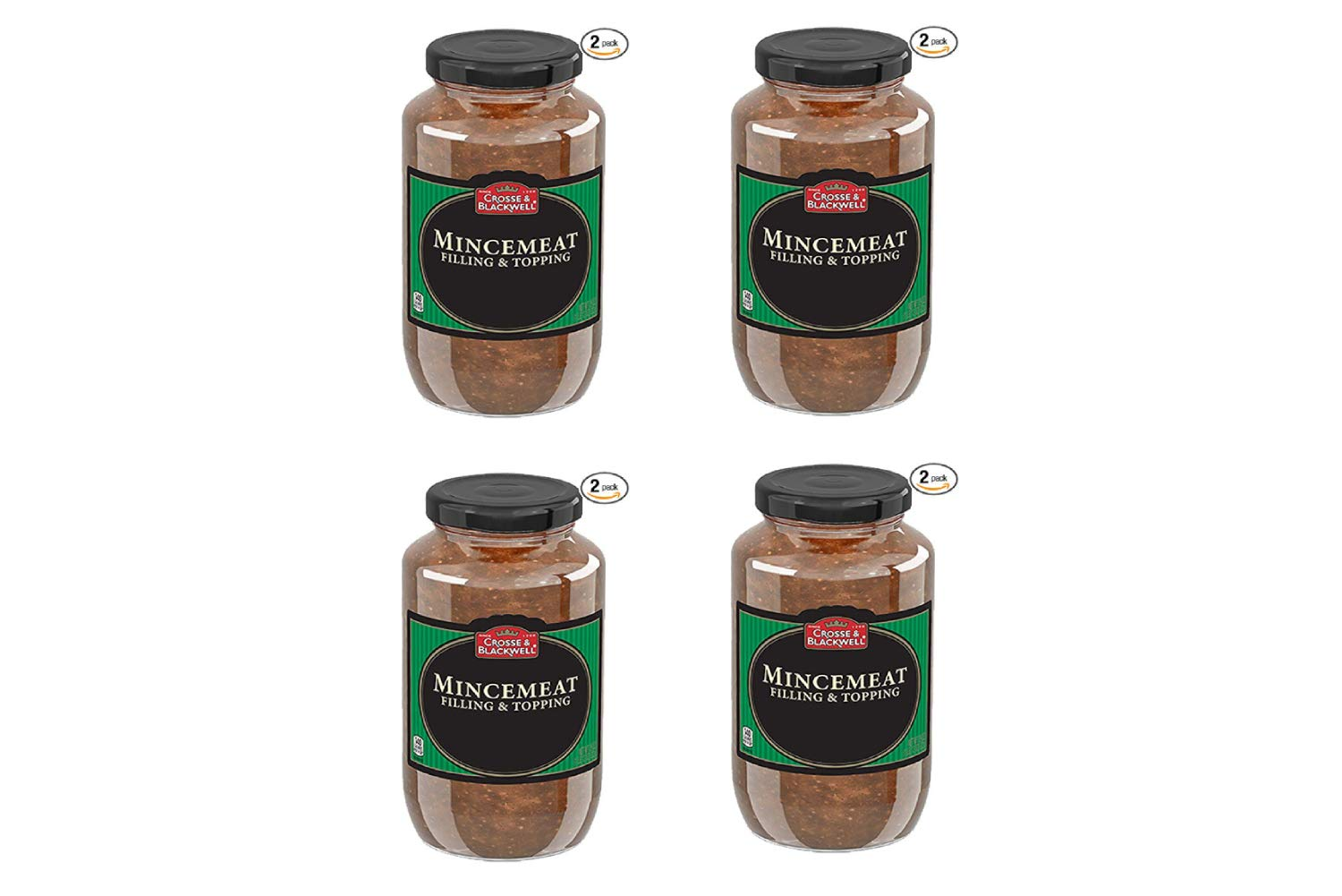 Crosse and Blackwell Mincemeat Plain 29 Ounce 2 Count (4 Pack)