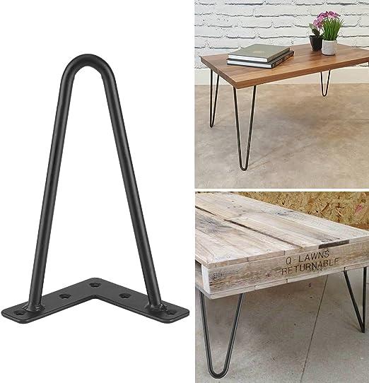 4Pcs Patas de la Mesa de Hierro para Muebles Artesanales DIY ...