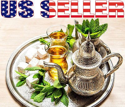 WN Moroccan Mint Seeds Heirloom NON-GMO Fragrant Rare!!! USA (China Gunpowder Tea)
