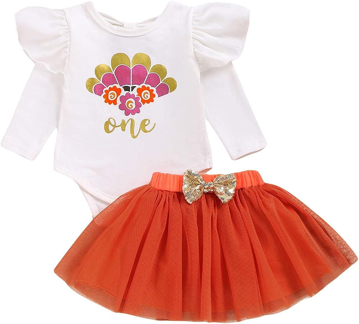 Headband Outfits Tutu Skirt 3Pcs//Set Baby Girl Sequin Long Sleeve Top Shirt