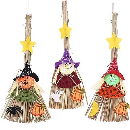 Amazon Com Tuersuer Wedding Festival Party Decoration Witch Broom