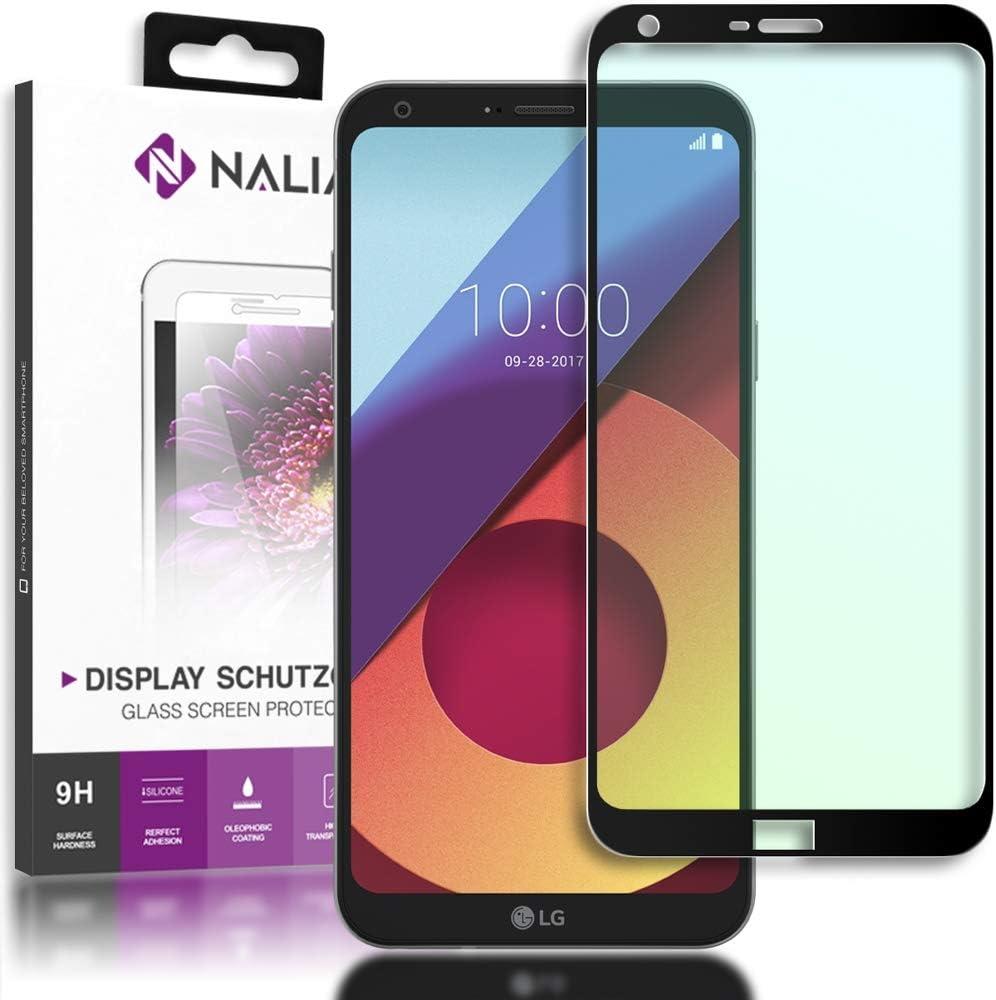 NALIA Cristal Templado Compatible con LG Q6, Vidrio Blindado ...