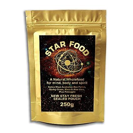 Star Food monatómica ORO Ormus 250g – mufkutz Premium Natural Puro Nutrición Salud supercomida para MENTE