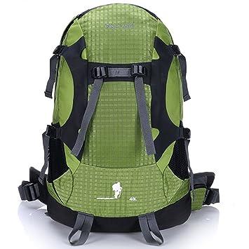 Mochilas Impermeables y Transpirables Multifuncionales de Gran Capacidad de Viaje Caminando Escalada Salvaje Acampar Ocio Deportivo