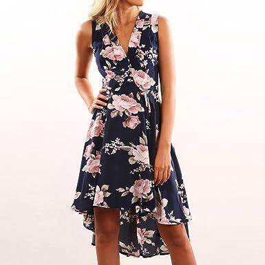 Faldas Mujer Verano 2019 Mosstars Vestidos de Fiesta Playa Mujer sayas Vestidos de Fiesta Mujer Largos para Boda polleras largas Vestido Corto Mujer ...
