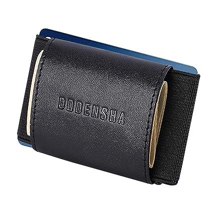 Carteras de Bloqueo RFID para Hombres Monedero de Cuero Genuino Cartera de Tarjeta de crédito Monedero Slim Coin Pocket para Hombres con Caja de ...