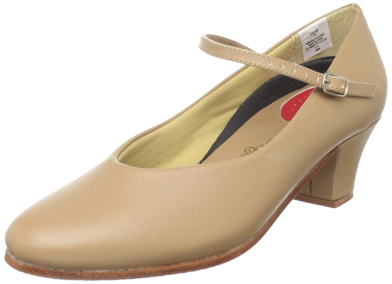 Dance Class Women's C501M Character Shoe,Caramel,10.5 M US by Dance Class