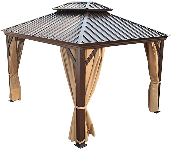Patio jardín fiesta tienda de campaña carpa pabellón con techo de ...