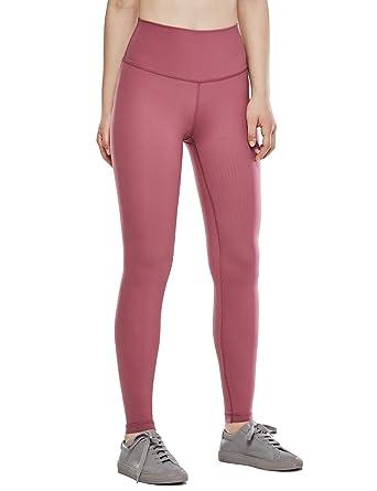 56e9bff2361e63 CRZ YOGA Women's Hugged Feeling High Waist Training Leggings 4 Way Stretch  Workout Tights 28'