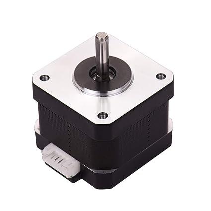 Aibecy Piezas de la impresora 3D 42-34 Motor paso a paso 2 fases ...