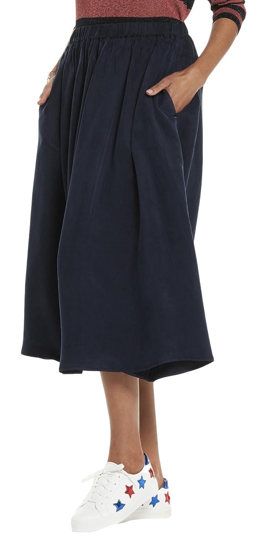 Maison Scotch Damen Casual Röcke Longer Length Drapey Cupro Skirt