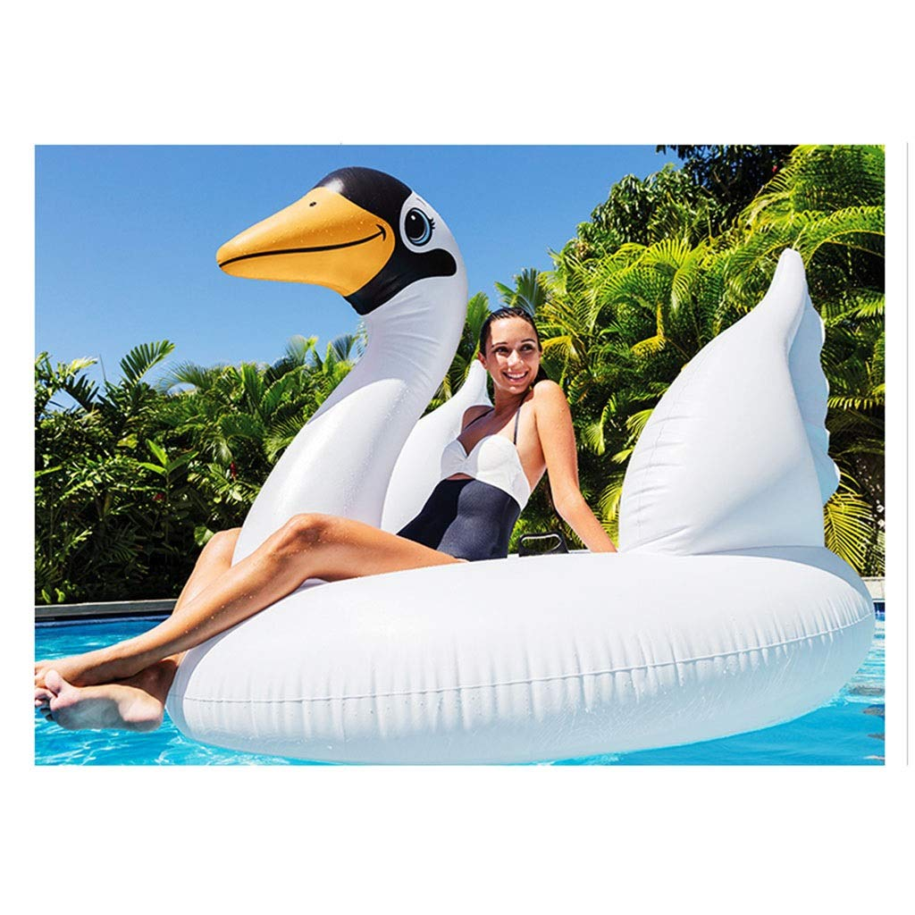 SUN HUIJIE Pool Float White Goose Inflatable Boat Children Inflatable Swimming Pool Loungers Adult Summer Fun Outdoor Pool Toys Float Raft (Size : 194152147cm) by SUN HUIJIE (Image #3)